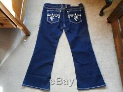 EUC Rock Revival Yui Easy Boot Jeans Size 36 Check Measurements For Fit