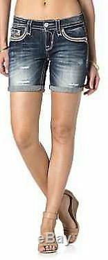 Luxus Damen Jeans von ROCK REVIVAL Kaylee RH Shorts-W26
