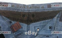 NEW ROCK REVIVAL Size 34 MEN'S CARGO DISTRESSED SHORTS STYLE# RCM1005-2