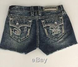NEW Rock Revival Betty Mid-Rise Jeans Shorts Size 29