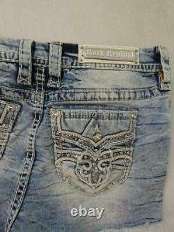 NWOT ROCK REVIVAL FAY MID RISE SHORTS sz 30 (AS IS)