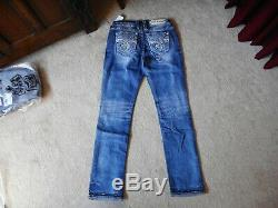 NWT Rock Revival Irela Easy Straight Jeans Size 29 Check Measurements For Fit