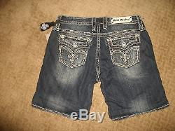 NWT Rock Revival Kaylee Easy Shorts Jeans Size 30