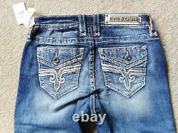 NWT Rock Revival Lam Easy Crop Jeans Size 25 Check Measurements For Fit