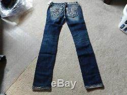 NWT Rock Revival Priya Straight Jeans Size 26 Check Measurements For Fit