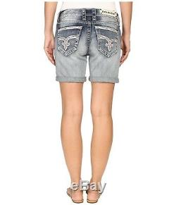 New NWT Rock Revival Short Easy Katell Shorts Embellished Sizwe 26 2