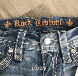 New Rock Revival Embellished Sequined shorts Retail $144