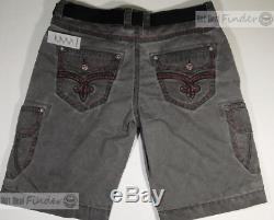 New Rock Revival = Size 42 = Men's Cargo Shorts Style# Rcm1005-3