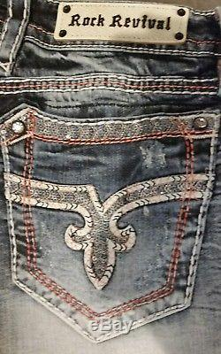 Nwt Rare Buckle Rock Revival Windie H4 Crystal Sequined Shorts Size 31