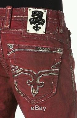 Rock Revival Foust H7 Shorts Size 40w New With Tags