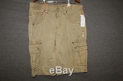 ROCK REVIVAL men's size 34 BRAND NEW cargo shorts FREE SHIPPING NWT 34 X 23
