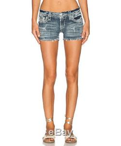Rock Revival Clover Shorts Design Women's Fringe New with Tags Summer Fashion