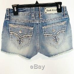 Rock Revival Crystal Embellished short New with tag size 26