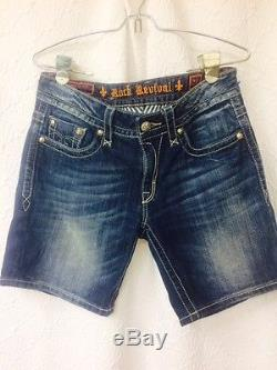 Rock Revival Easy jean shorts NWT size 28 (fists 32 waist)