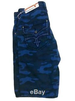 Rock Revival Men's Camouflage Cargo Shorts Choose Sizes