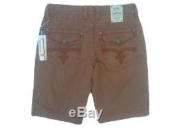 Rock Revival Men's Colored Cargo Shorts -Sizes Available