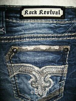 Rock Revival Nadie Shorts RP9585H200 Women's or Juniors Jeans Shorts Size 25
