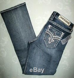 Rock Revival Rana Easy Boot Women's Jeans Plus Size 34 short (30 inch) NWT