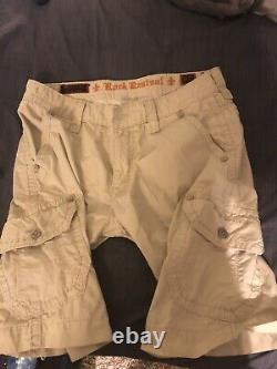 Rock Revival Shorts Lot Of 3 Size 36 Free Priority Shipping