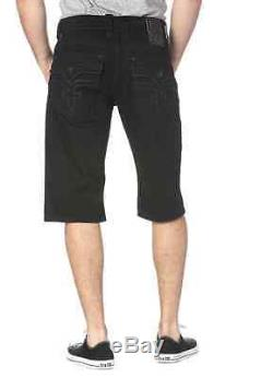 Rock Revival Steven H43 Shorts Black Afterhours Brand New Free Shipping