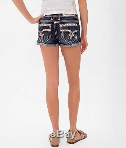 Rock Revival Stretch jean shorts NWT size 25
