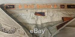Rock Revival Womens Betty Gray Embellished Shorts Size 28
