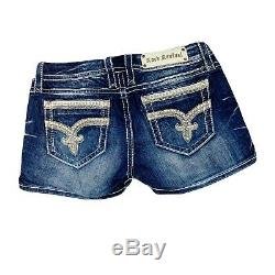 Rock Revival Womens Sherry Shorts Size 29