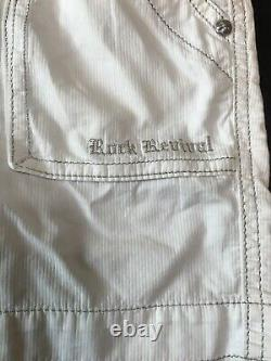 Rock Revival Womens Shorts White Belted Cargo Size 29 Worn Once