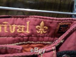 Rock Revival corduroy Shorts red NEW WITH TAGS AUTHENTIC
