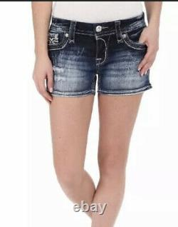 Rock revival Womens Shorts jeans 27 anais Distressed