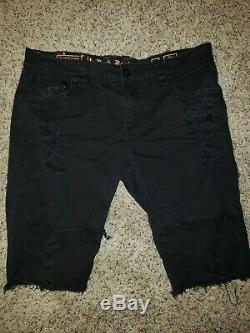 Rock revival shorts 40 ripped up distressed hardly worn amazing condition