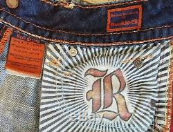 Womens HOT! HOT! ROCK REVIVAL Low Rise Size 26 Jean Shorts NEW WithOUT TAGS